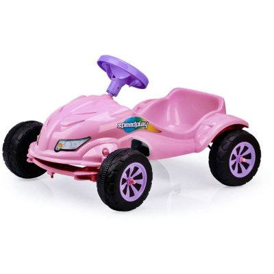 CARRO A PEDAL SPEED PLAY ROSA HOMEPLAY