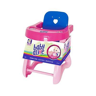 Mini Cadeira de Papinha Baby Alive - Cotiplás