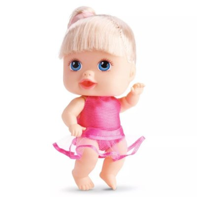 BONECA LITTLE DOLLS BAILARINA - DIVERTOYS