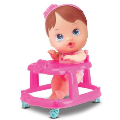 BONECA LITTLE DOLLS ANDADOR - DIVERTOYS