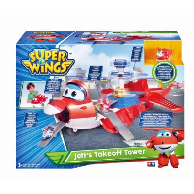 SUPER WINGS TORRE DE DECOLAGEM DO JETT - FUN