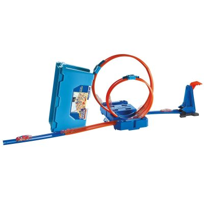 HOT WHEELS TRACK BUILDER KIT DE LOOP - MATTEL