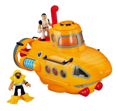 SUBMARINO IMAGINEXT FISHER PRICE - MATTEL