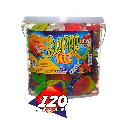 BALDE SUPER LIG COM 120 PEÇAS - ADIJOMAR