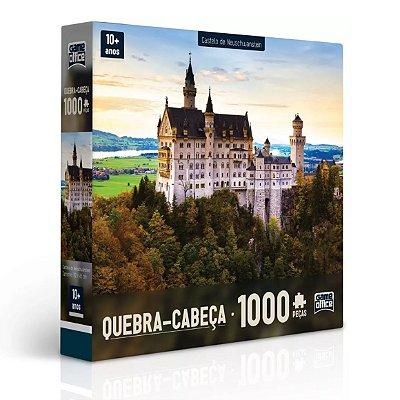 QUEBRA-CABEÇA CASTELO DE NEUSCHWANSTEIN 1000 PEÇAS - TOYSTER