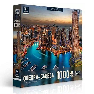 QUEBRA-CABEÇA MARINA DE DUBAI 1000 PEÇAS - TOYSTER
