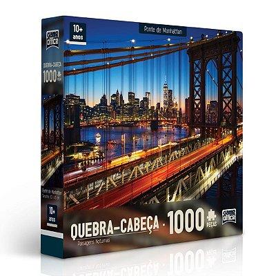 QUEBRA-CABEÇA PONTE DE MANHATTAN 1000 PEÇAS - TOYSTER