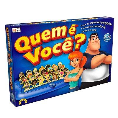 JOGO QUEM É VOCÊ TOP LINE - PAIS E FILHOS