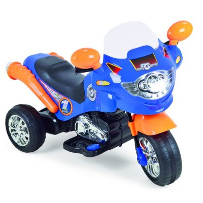 MOTO ELÉTRICA SPEED CHOPPER AZUL 6V - HOMEPLAY