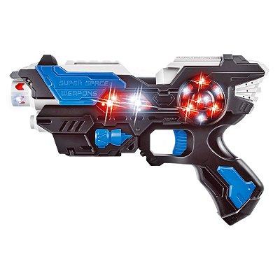 ARMA SPACE WEAPON DARK FIRE COM SOM E LUZ - DM TOYS