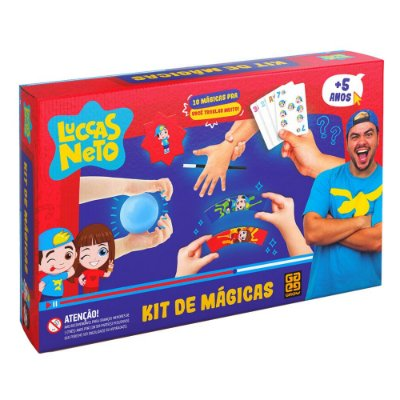 KIT DE MÁGICAS LUCCAS NETO - GROW