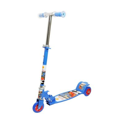 PATINETE RADICAL TOP 3 RODAS AZUL - DM TOYS