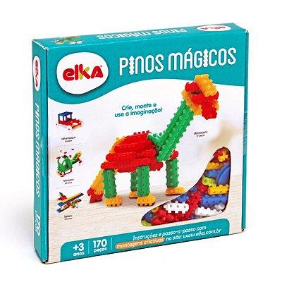 PINOS MÁGICOS 170 PEÇAS - ELKA BRINQUEDOS