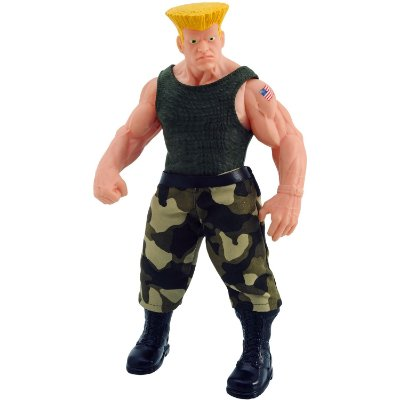 BONECO GUILE STREET FIGHTER 30CM - ANGEL TOYS