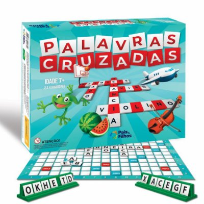 JOGO PALAVRAS CRUZADAS - PAIS E FILHOS