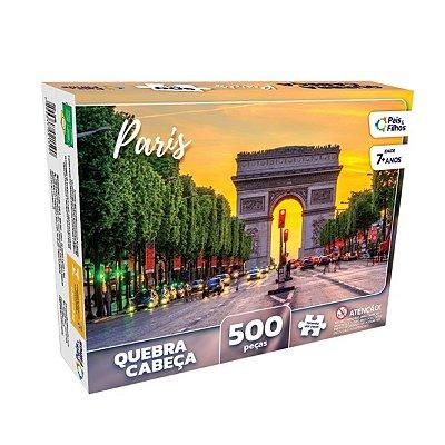 QUEBRA-CABEÇA PARIS 500 PEÇAS - PAIS E FILHOS