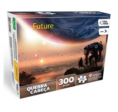QUEBRA-CABEÇA FUTURE 300 PEÇAS - PAIS E FILHOS