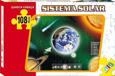 QUEBRA CABEÇA SISTEMA SOLAR 108 PEÇAS - NIG BRINQUEDOS
