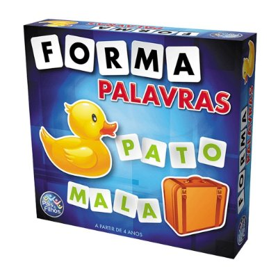 JOGO FORMA PALAVRAS - PAIS E FILHOS