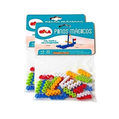 PINOS MÁGICOS 60 PEÇAS - ELKA BRINQUEDOS