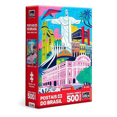 QUEBRA CABEÇA POSTAIS DO BRASIL MONUMENTOS - TOYSTER