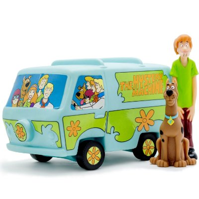 THE MYSTERY MACHINE - SCOOBY DOO - ANGEL TOYS