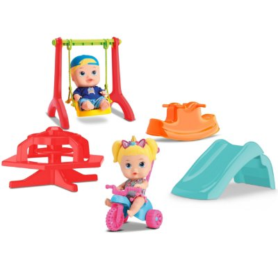 BONECOS LITTLE DOLLS SUPER PLAYGROUND - DIVERTOYS