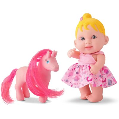 BONECA BABIES NEW COLLECTION UNICÓRNIO - BEE TOYS