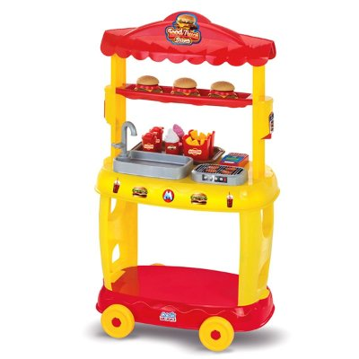 FOOD TRUCK BURGUER - MAGIC TOYS