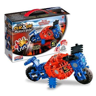 CLIC E LIG MOTORCYCLE 47 PEÇAS - PLASBRINK