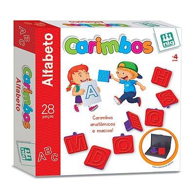 CARIMBOS ALFABETO - NIG BRINQUEDOS