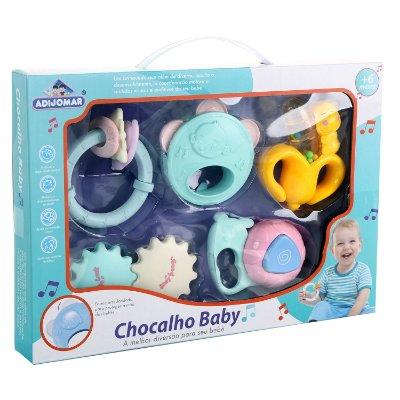 KIT 05 CHOCALHO BABY - ADIJOMAR