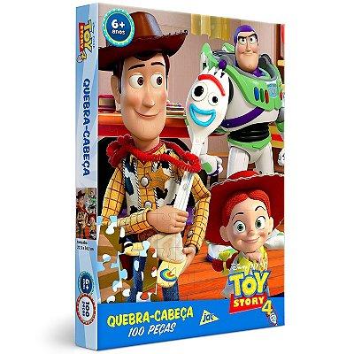 QUEBRA CABEÇA TOY STORY 4 - 100 PEÇAS - TOYSTER