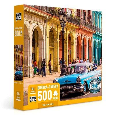 QUEBRA CABEÇA RUAS DE CUBA 500 PEÇAS - TOYSTER