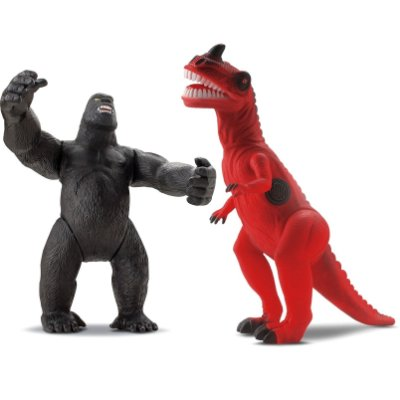 T-REX VS KING - BEE TOYS