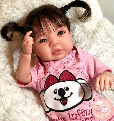 be434141acf Bebê Reborn Ana com enxoval, promoção original totalmente detalhada ...