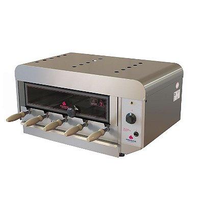 Churrasqueira Rotativa Elétrica Inox PRR-050 EN Progás