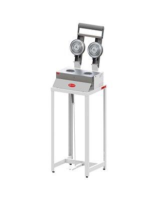 Seladora Manual Dupla para Potes com Pedestal SPO 150 P Sulpack