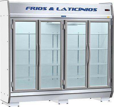 Expositor de Frios e Laticínios 4 Portas EAS 230 Fortsul
