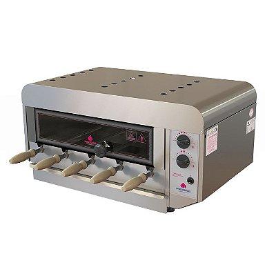 Churrasqueira Rotativa a Gás Inox PRR-050 N Progás
