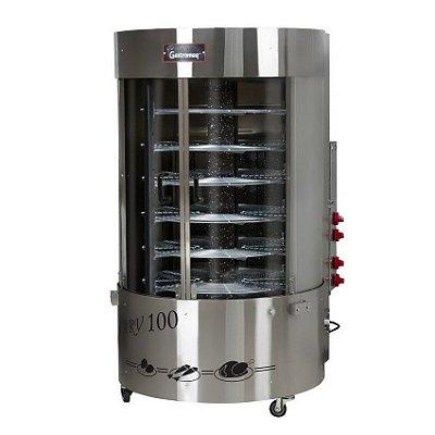 Forno Giratório a Gás 100 Kg ARV 100 SQC Gastromaq