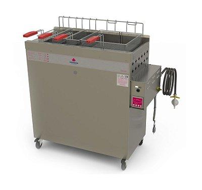 Fritador a Gás Acendimento Automático Água e Óleo 30 Litros PR-3000 BPAT Progás