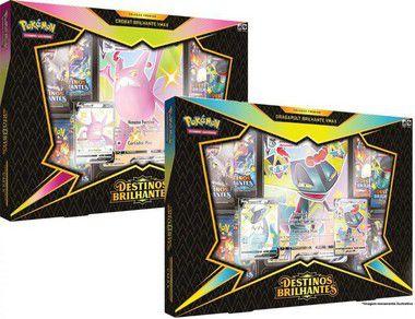 Kit Box Crobat & Dragapult VMAX - Destinos Brilhantes