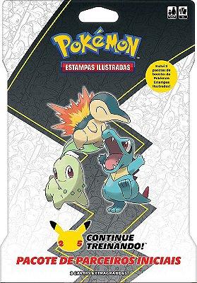 [PRÉ-VENDA] Blister Gigante Pokémon - Johto