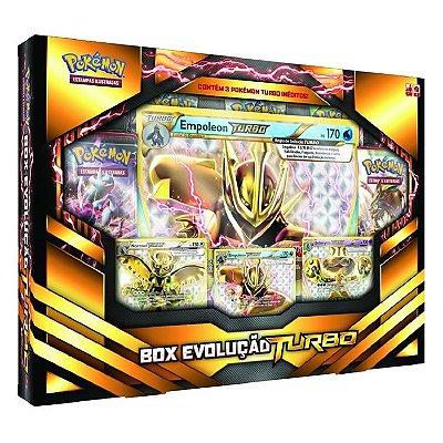Pokémon - Box Evolução Turbo