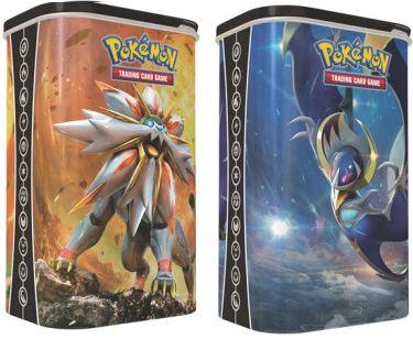 Pokemon - Lata Porta Baralho Solgaleo & Lunala