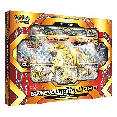 BOX EVOLUÇÃO TURBO ARCANINE