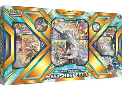 POKÉMON BOX MEGA - SHARPEDO