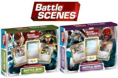 2x BATTLE BOX - BATTLE SCENES