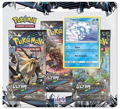 Pokémon SL5 Blister Triplo - Ultra Prisma